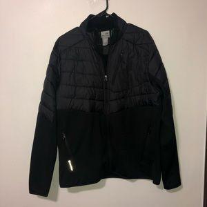 Champion black puffy jacket size large